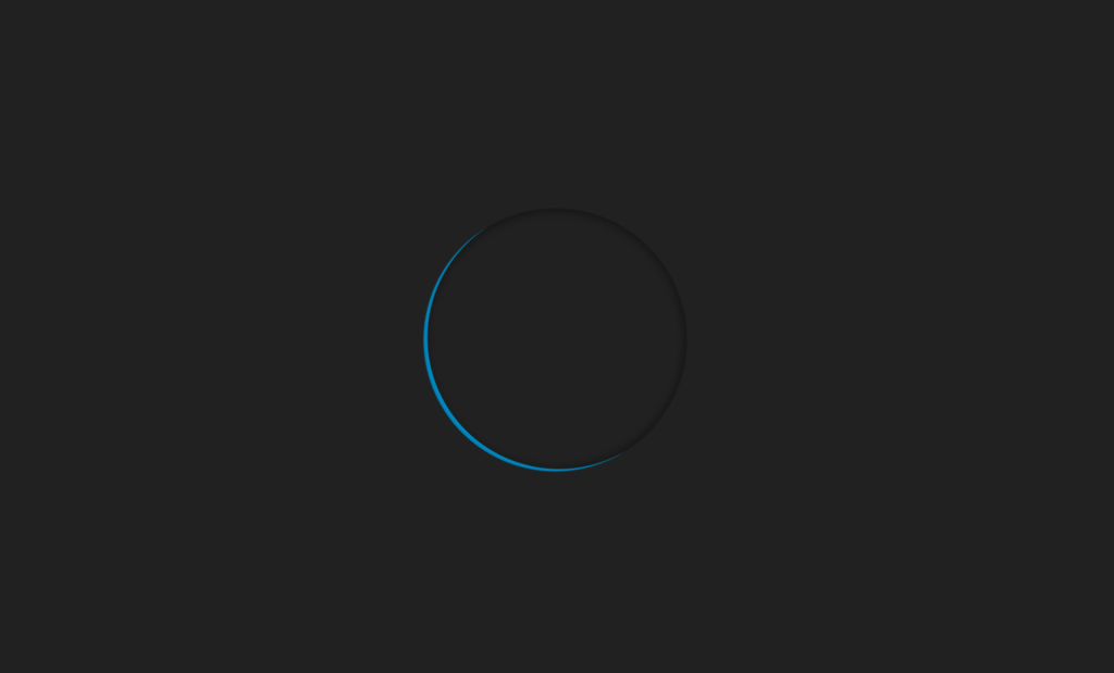 Pure CSS Loader Ring of Light
